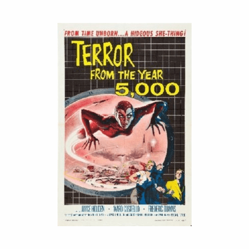Terror From The Year 5000 Mini Movie Poster 11x17