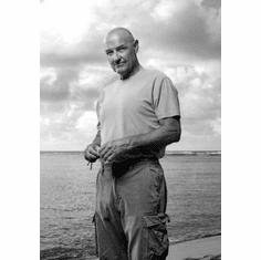 """Terry O'Quinn Black and White Poster 24""""x36"""""""
