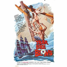 Thar She Blows Movie 11inx17in Mini Poster #01