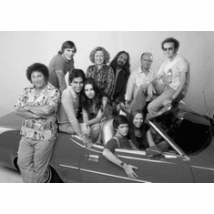 "That 70S Show Black and White Poster 24""x36"""