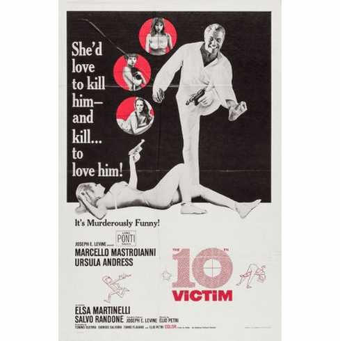 The 10th victim Mini Poster 11inx17in poster
