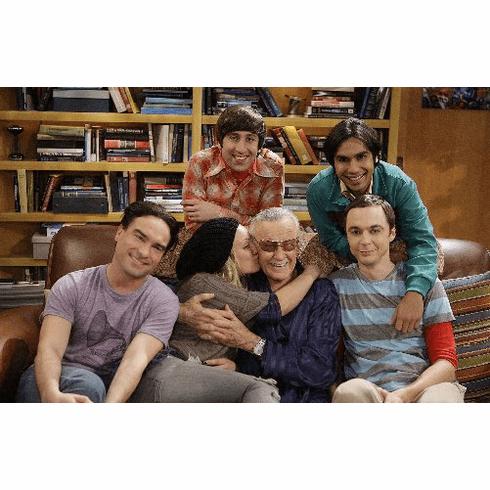 The Big Bang Theory With Stan Lee 11inx17in Mini Poster