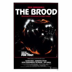 The Brood Movie Poster 11x17 Mini Poster