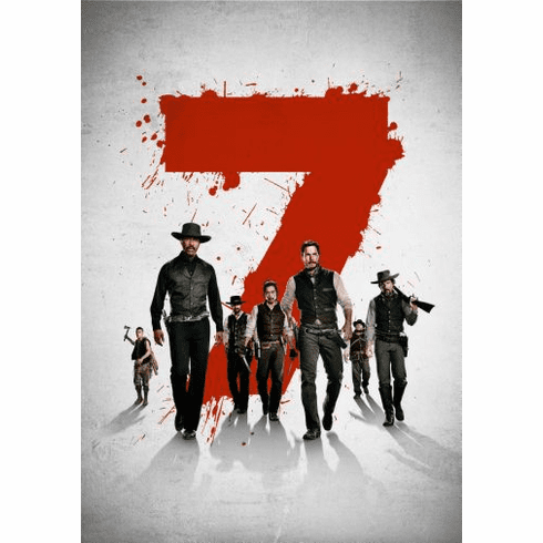 The Magnificent Seven Movie Poster 24x36