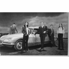 "The Mentalist Black and White Poster 24""x36"""