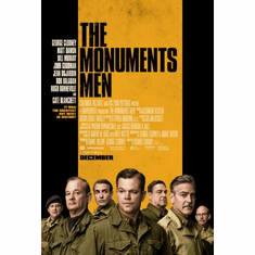 The Monuments Men Movie Poster 24inx36in Poster