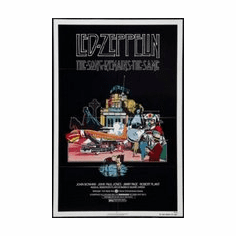 The Song Remains The Same Mini poster 11inx17in led zeppelin