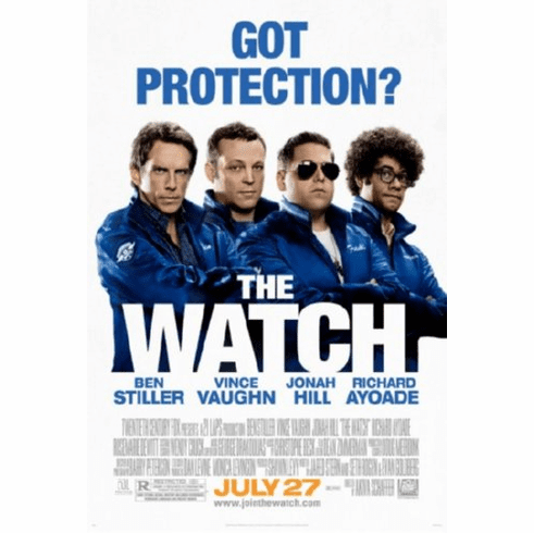 The Watch Movie Poster 24inx36in