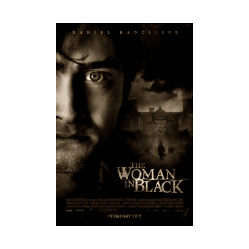 The Woman In Black 8x10 photo Master Print