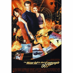 The World Is Not Enough The Movie Poster James Bond 24inx36in