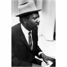 """Thelonious Monk Black and White Poster 24""""x36"""""""