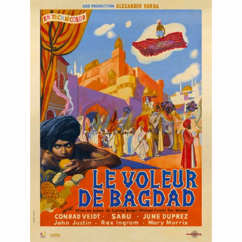 Thief Of Bagdad Movie Poster 24x36 French