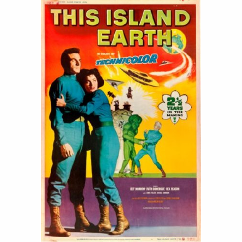 This Island Earth Movie Poster 24inx36in