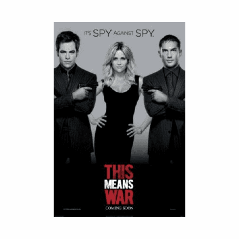 This Means War Mini Movie Poster 11inx17in