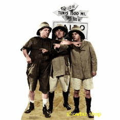 Three Stooges Safari Poster 24inx36in