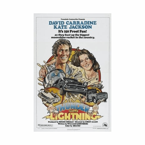 Thunder And Lightning Movie Poster 11x17 Mini Poster