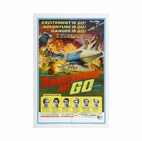 Thunderbirds Are Go Poster 24inx36in