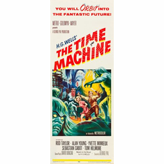 Time Machine The 14inx36in Insert Movie Poster