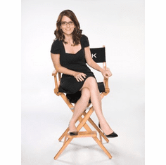 Tina Fey Poster 24x36 director's chair