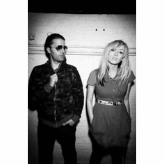 """Ting Tings Black and White Poster 24""""x36"""""""