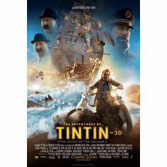 Tintin Movie Poster 24x36 #02