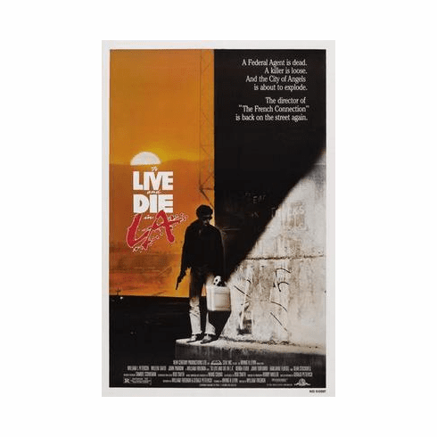 To Live And Die In La Movie Poster 24in x36 in