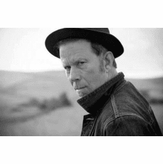 "Tom Waits Black and White Poster 24""x36"""