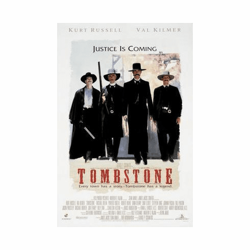 Tombstone Movie Poster 24in x36 in