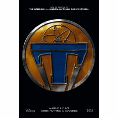 Tomorrowland Movie poster 24inx36in Poster