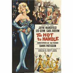 Too Hot To Handle Movie Poster 24inx36in