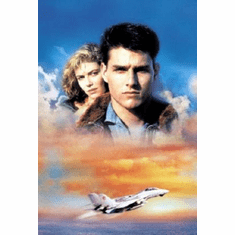 Top Gun Movie Poster #02 Art, No Text 24inx36in