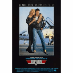Top Gun Movie Poster #05 24inx36in