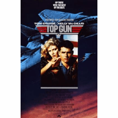 Top Gun Movie Poster 24x36 Tom Cruise
