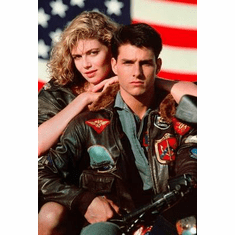 Top Gun Movie Poster Tom Cruise 24in x36 in