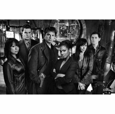 "Torchwood Black and White Poster 24""x36"""