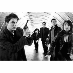 "Torchwood Cast Black and White Poster 24""x36"""