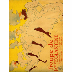 Toulouse Lautrec Poster French Can Can Girls 24inx36in