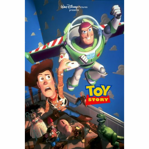 Toy Story 1 Movie Poster 24inx36in