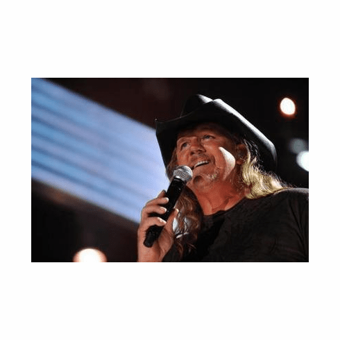 Trace Adkins Poster Singing 24in x36 in