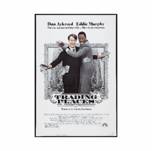 Trading Places Mini Movie Poster 11x17