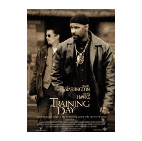 Training Day Movie Poster 24inx36in