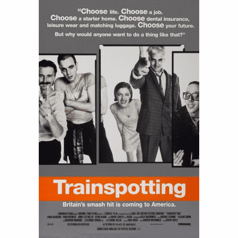 Trainspotting Movie Poster 24inx36in