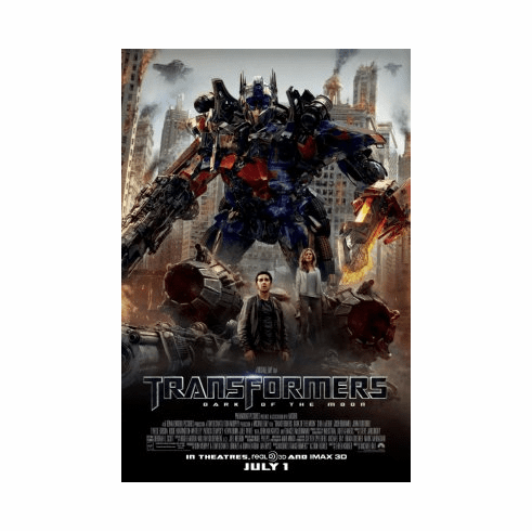 Transformers Dark Of The Moon Movie Poster 24x36