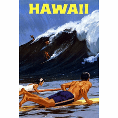 Travel Agency Art Hawaii 8x10 PrintArt  Photo