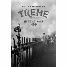 "Treme Black and White Poster 24""x36"""