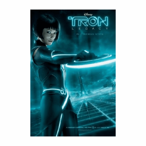 Tron Legacy Movie Poster #A03 Quorra Olivia Wilde 24inx36in