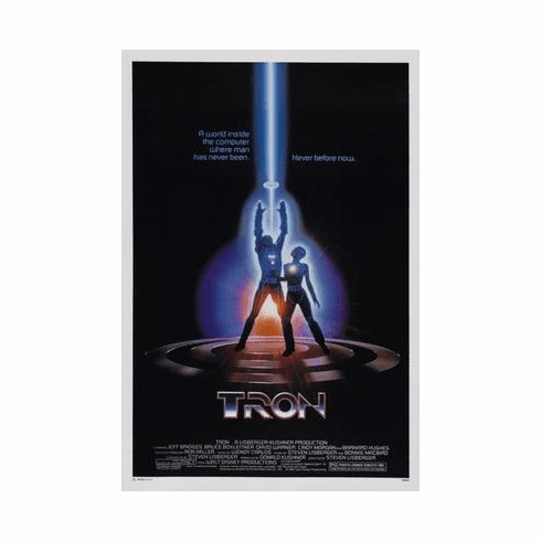 Tron Movie Poster 24in x36 in