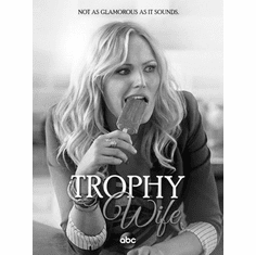 """Trophy Wife Black and White Poster 24""""x36"""""""