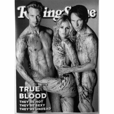 "True Blood Black and White Poster 24""x36"""