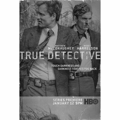 """True Detective Black and White Poster 24""""x36"""""""